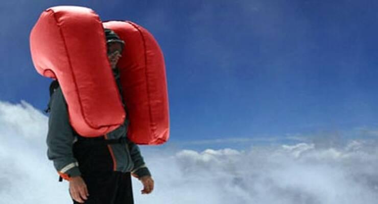 Фото к статье: Подушки безопасности для горнолыжников