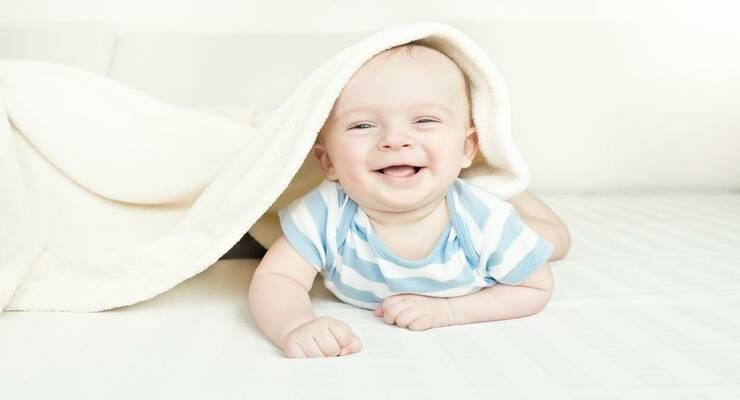 Фото к статье: У малышей есть чувство юмора