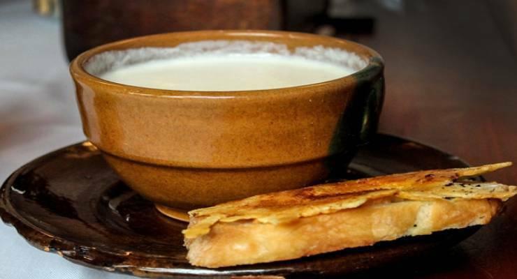 Фото к статье: Картофельный крем-суп