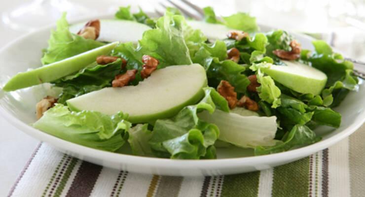 Фото к статье: «Хорошая еда». Салат «Уолдорф»