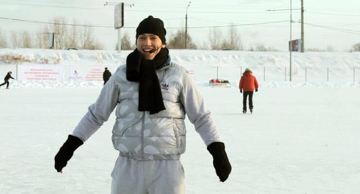 Фото к статье: Станислав Рогачев о телемарафоне, фитнесе на коньках и красноярских морозах