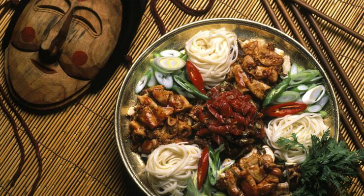 Фото к статье: Корейская кухня