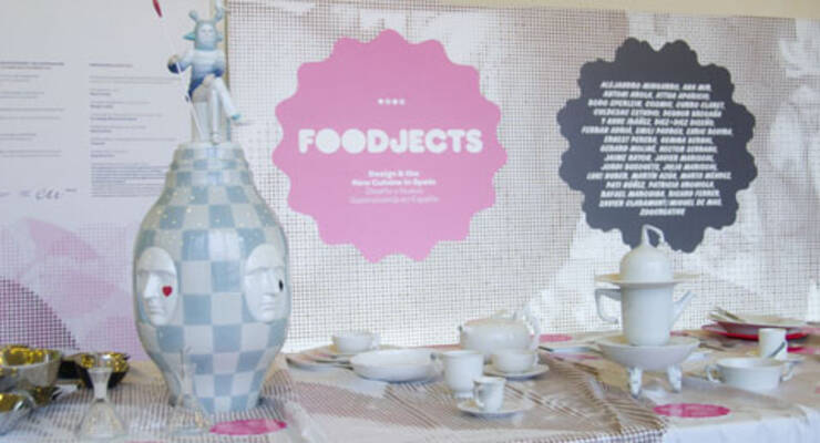 Фото к статье: Испанская посуда научила еду разговаривать