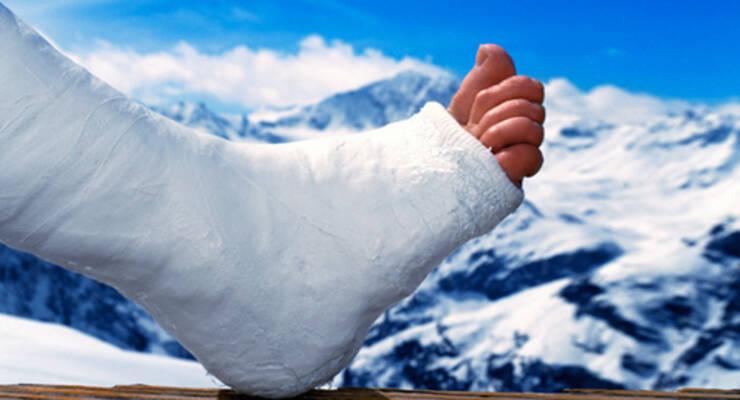 Фото к статье: Лыжи, руки, ноги, травмы?