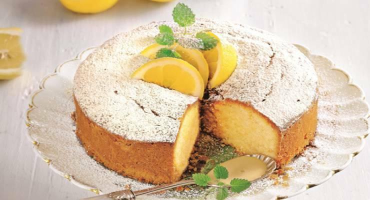 Фото к статье: Ароматный лимонный кекс