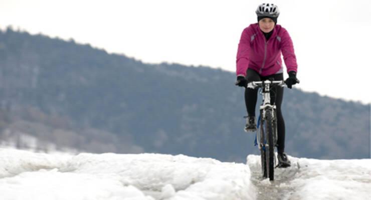 Фото к статье: Зимние тренировки для велосипедиста
