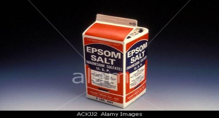 Фото к статье: Английская соль