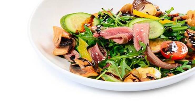 Фото к статье: Согревайся: рецепты лучших теплых салатов. Часть 1