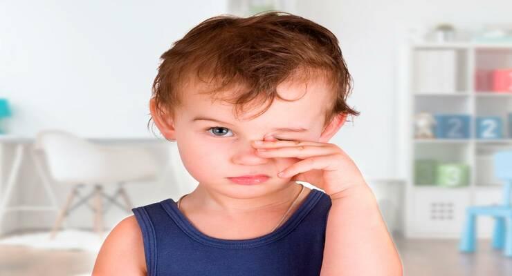 Фото к статье: Конъюнктивит у детей: симптомы и лечение
