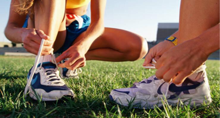 Фото к статье: Как правильно шнуровать кроссовки