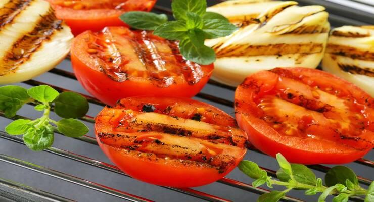 Фото к статье: Запеченные томаты