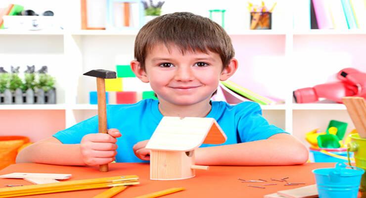 Фото к статье: Поделки из природного материала: мастерим вместе с детьми