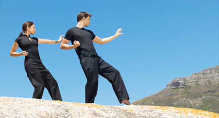 Фото к статье: «Китайская гимнастика» в Альпах со Станиславом Рогачевым