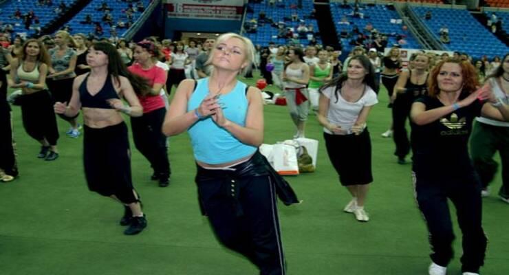 Фото к статье: Фитнес-конвенция World Class-2010: «ЖИВИ!» на танцполе