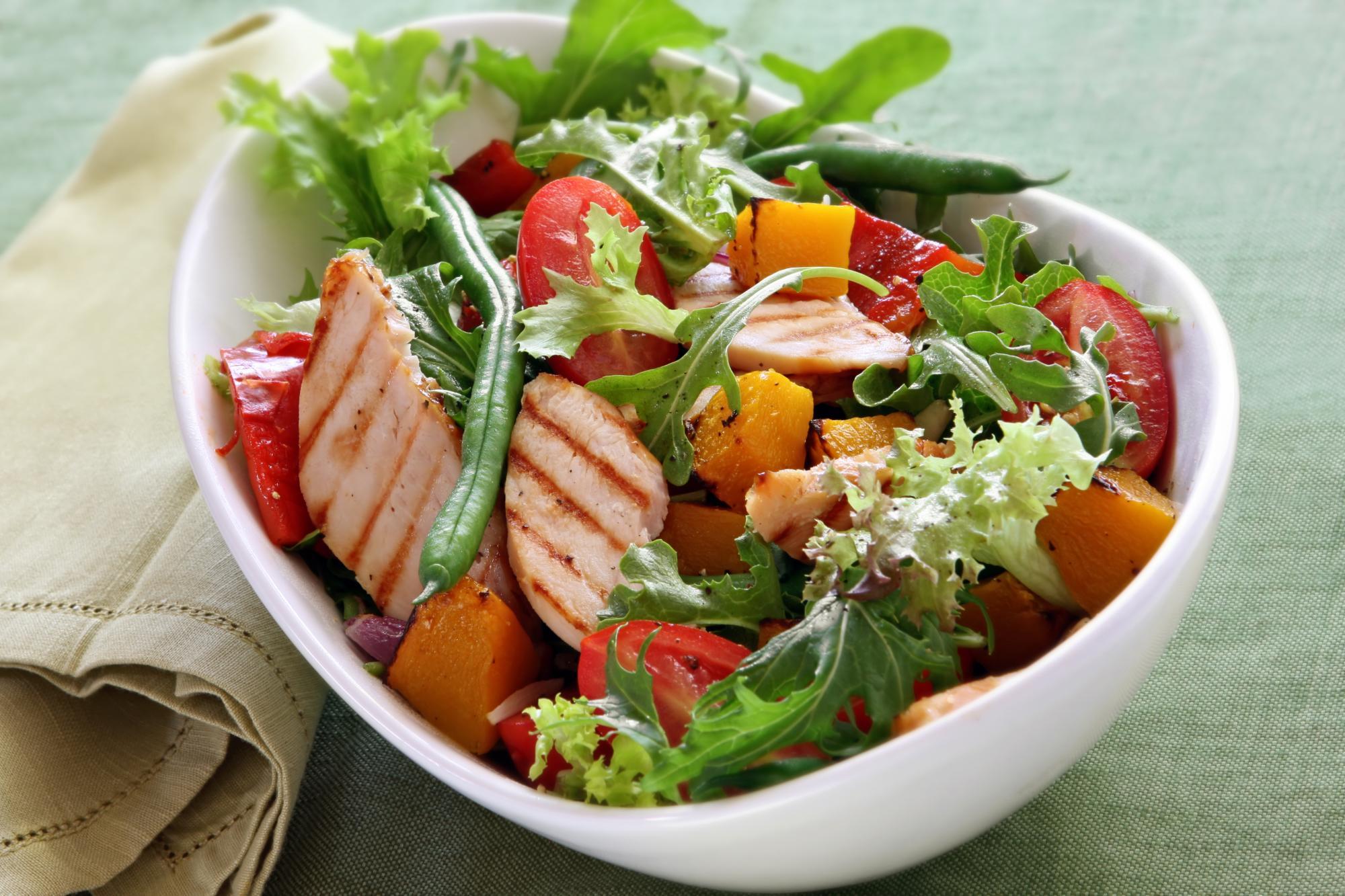овощной салат рецепт с фото для похудения баффетт