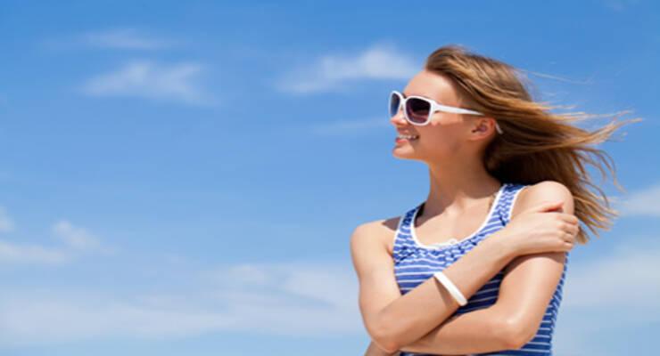 Фото к статье: Как ухаживать за волосами летом