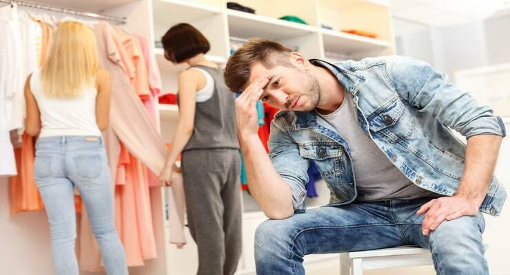 Фото к статье: Мужчина и шопинг — две вещи несовместные