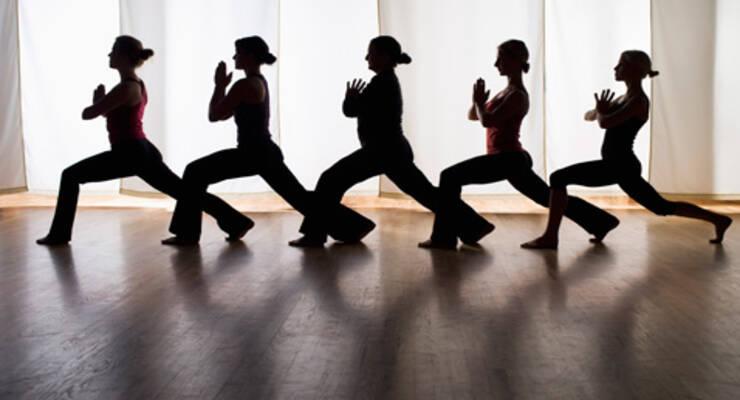 Фото к статье: Практические мастер-классы по йоге и фитнесу «ЖИВИ!» в Москве