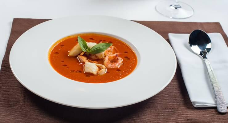 Фото к статье: Рецепт рыбного супа буйабес