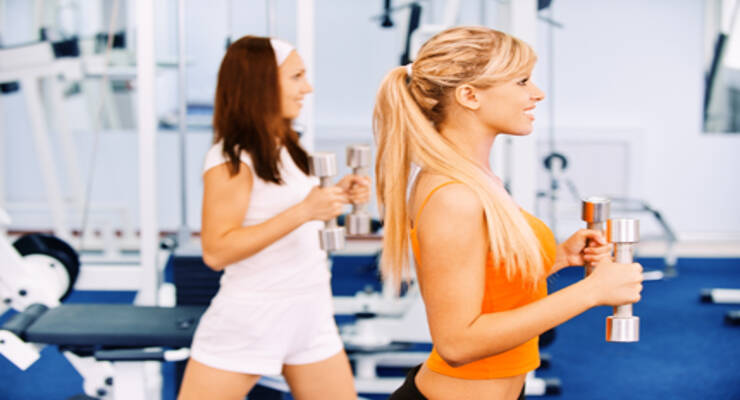 Фото к статье: Исправляем фитнес-ошибки с Натальей Лебедевой