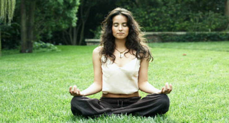 Фото к статье: Медитация против боли