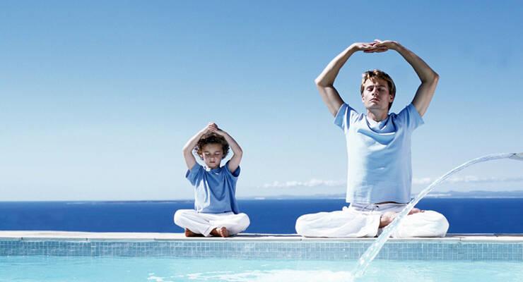 Фото к статье: «Детская йога». Йога для детей