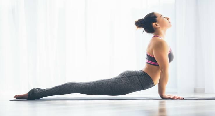Фото к статье: Осенняя практика йоги: как сделать ее эффективной