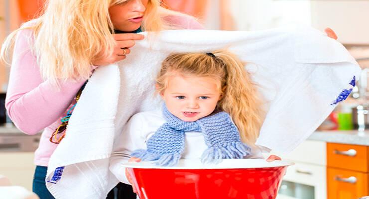 Фото к статье: Как делать ингаляции детям