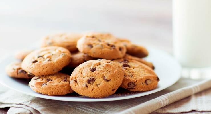 Фото к статье: Рецепт: ароматное овсяное печенье
