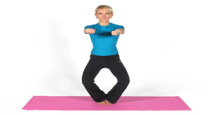 Фото к статье: Йогатерапия: упражнения для коленных суставов (ФОТО)