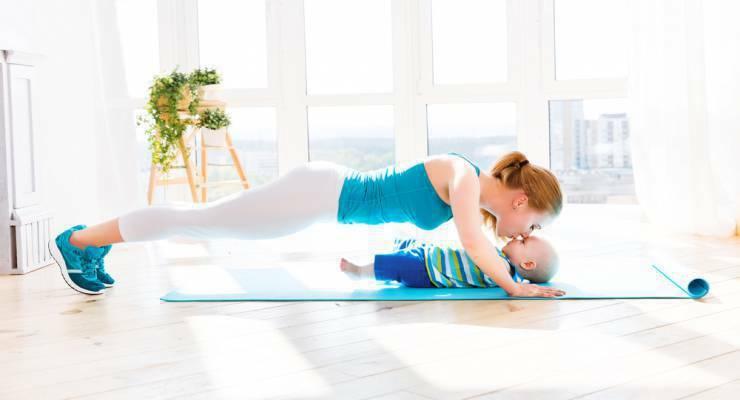 Фото к статье: Похудеть после родов: ваш первый комплекс упражнений