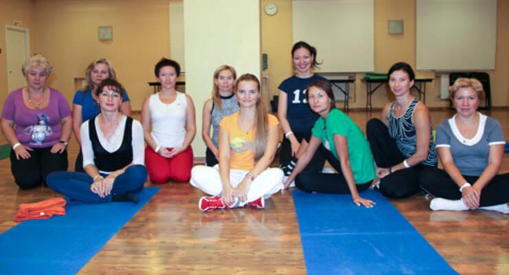 Фото к статье: Наталья Лебедева о встрече клуба «ЖИВИ!» и своем первом мастер-классе