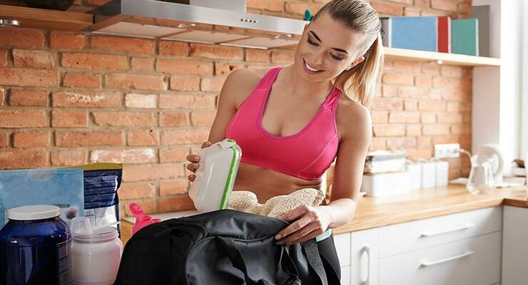Фото к статье: Правила питания: когда не стоит есть после фитнеса?