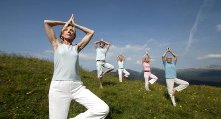 Фото к статье: Йога-тур в Италию: йога в Альпах с Рави Кумаром Довлуру