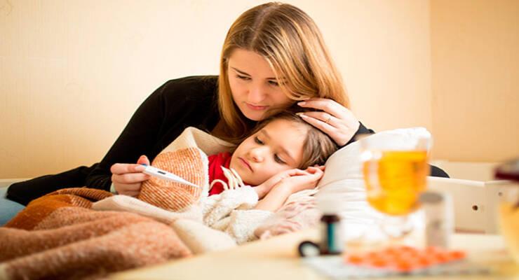Фото к статье: Почему ребенок часто болеет