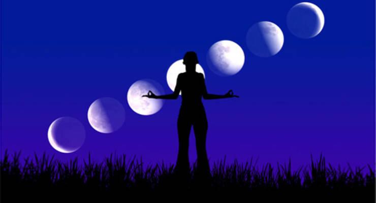 Фото к статье: Йога по лунному циклу с Аленой Мордовиной