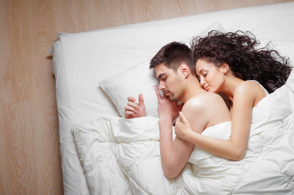этом красивая пара спит фото привлекает своей
