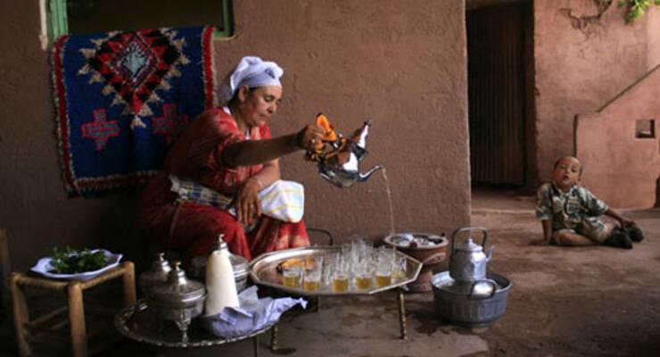 Фото к статье: Светлана Абу-Хардан о марокканской чайной церемонии