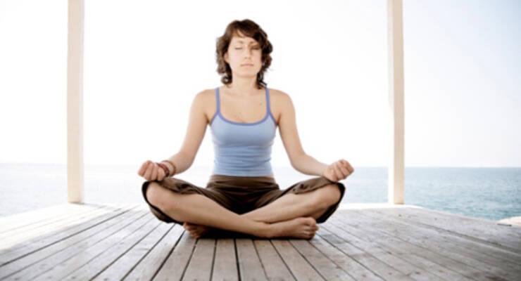 Фото к статье: Инна Видгоф: дыхание йоги против стресса