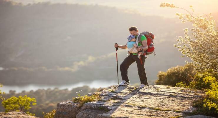 Фото к статье: Туристический поход с ребенком: пять главных правил