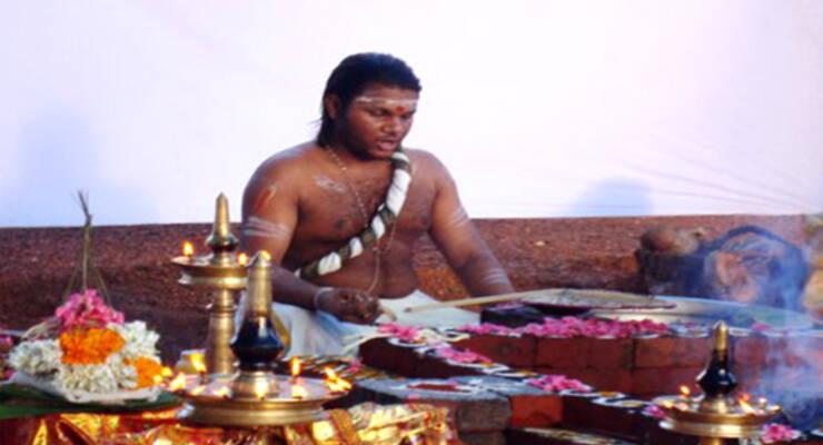 Фото к статье: Знаменитый и уникальный ведический астролог в центре «Керала»!
