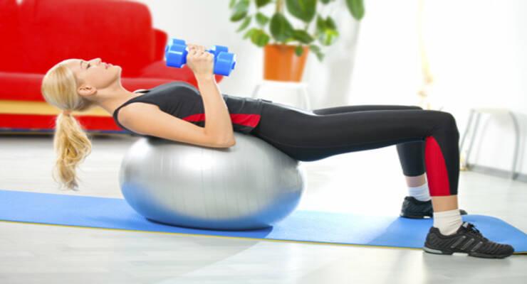 Фото к статье: Как заставить себя заниматься фитнесом дома?