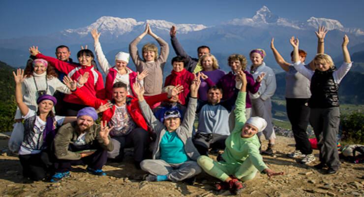 Фото к статье: Йога-тур в Непал с Алексеем Меркуловым: рассветы в Гималаях, «сумасшедшая мудрость» и отряд пробуждения