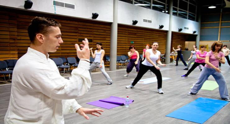 Фото к статье: Китайская гимнастика в Москве: итоги курса Станислава Рогачева