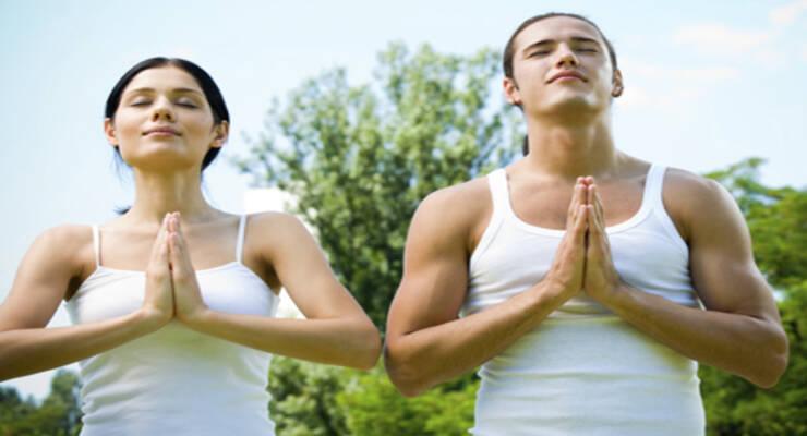 Фото к статье: Мастер-класс по йоге «Энергия стройного тела и сила ума» с Алексеем Владовским