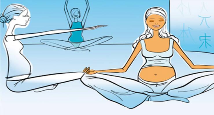 Фото к статье: Комплекс упражнений: Йога для беременных (1 триместр)