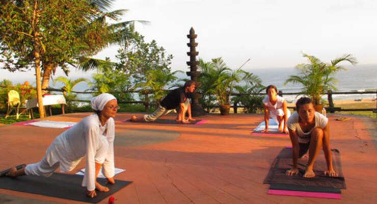 Фото к статье: Йога-тур в Индии с Марией Калининой. Точка равновесия