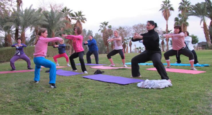 Фото к статье: Фитнес-тур «Худеем с Мариной Корпан» в Израиле. Часть 2