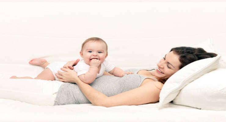 Фото к статье: Как убрать живот после родов