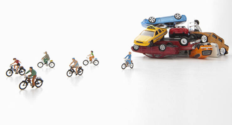 Фото к статье: Велопробег «ЖИВИ!» в поддержку акции «День без машин»
